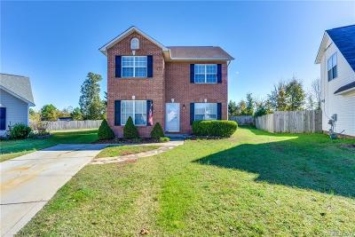 Indian Trail Single Family Home For Sale: 5802 Autumn Trace Lane