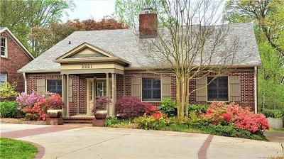 Charlotte Single Family Home For Sale: 2221 Sharon Road