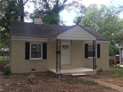 Charlotte Single Family Home For Sale: 2809 Clemson Avenue