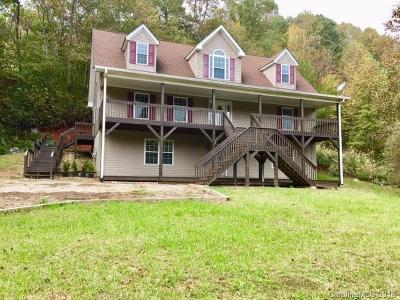 Bat Cave, Black Mountain, Chimney Rock, Columbus, Gerton, Lake Lure, Mill Spring, Rutherfordton, Saluda, Tryon, Union Mills Single Family Home For Sale: 54 Cabbage Patch Road