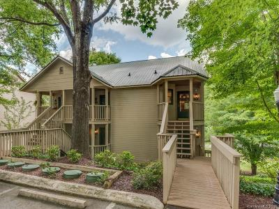 Bat Cave, Black Mountain, Chimney Rock, Columbus, Gerton, Lake Lure, Mill Spring, Rutherfordton, Saluda, Tryon, Union Mills Condo/Townhouse For Sale: 160 Whitney Boulevard #48
