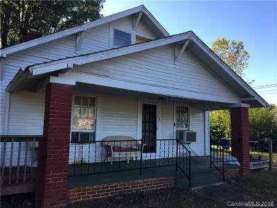 Statesville Single Family Home For Sale: 3419 Taylorsville Highway