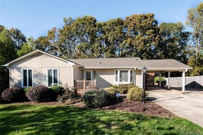 Cornelius Single Family Home For Sale: 17207 Jetton Road