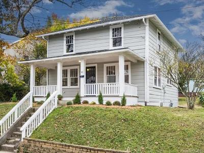 Asheville Single Family Home For Sale: 41 Crescent Street