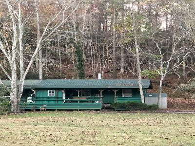 Lake Lure NC Single Family Home Under Contract-Show: $149,900