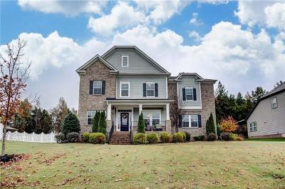 Waxhaw NC Single Family Home For Sale: $475,000