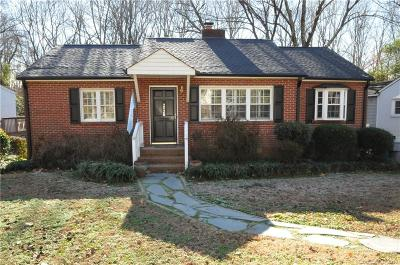 Myers Park Single Family Home For Sale: 2928 Hanson Drive