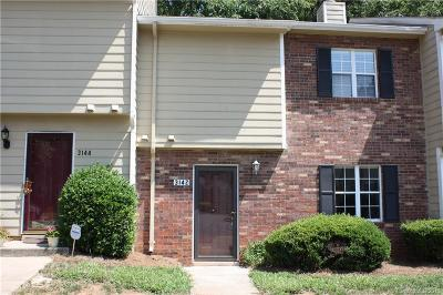 Charlotte Condo/Townhouse For Sale: 3142 Heathstead Place