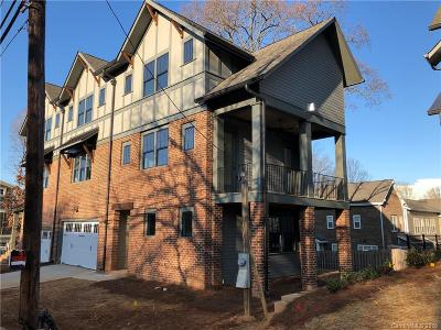 Charlotte Condo/Townhouse Under Contract-Show: 340 S Torrence Street #4