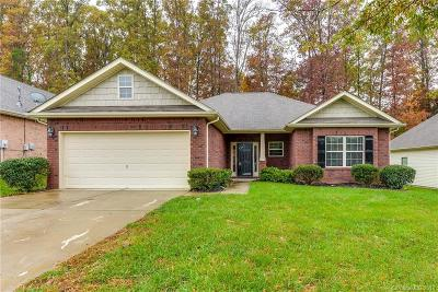 Charlotte Single Family Home For Sale: 7701 Rockland Drive