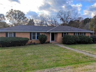 Matthews Single Family Home Under Contract-Show: 12032 Idlewild Road