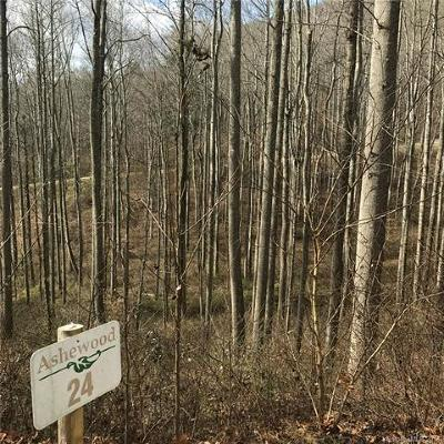 Candler Residential Lots & Land For Sale: 37 Ashewood Mountain Way #24