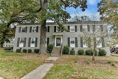 Charlotte Condo/Townhouse For Sale: 418 Wakefield Drive #C