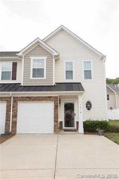 Charlotte Condo/Townhouse For Sale: 7318 Copper Beech Trace