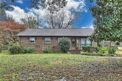 Mint Hill Single Family Home For Sale: 10700 Arlington Church Road