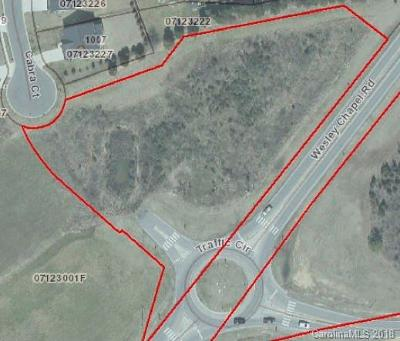 Indian Trail Residential Lots & Land For Sale: Wesley Chapel Road