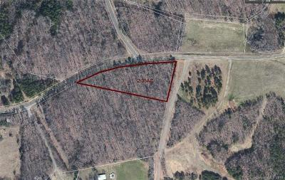 Anson County Residential Lots & Land Under Contract-Show: Burnsville Church Road #2.35 ACR