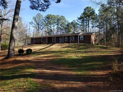 Anson County Single Family Home For Sale: 74 Buffalo Creek Road