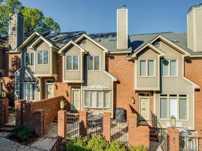 Myers Park Condo/Townhouse For Sale: 201-C Hillside Avenue #C