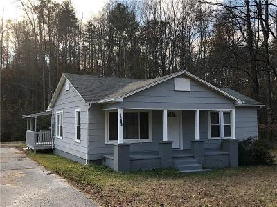 Lenoir Single Family Home Under Contract-Show: 3415 Rocky Road