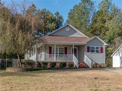 Rock Hill SC Single Family Home For Sale: $160,000
