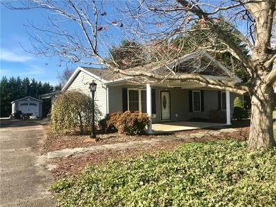 Taylorsville NC Single Family Home For Sale: $179,000