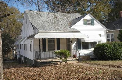 Salisbury NC Single Family Home For Sale: $129,900