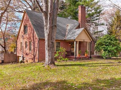 Asheville Single Family Home For Sale: 55 School Road