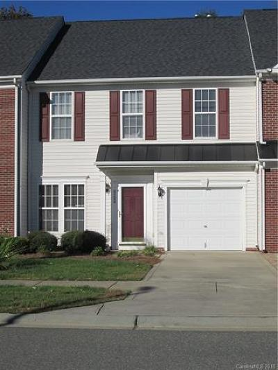 Cabarrus County Condo/Townhouse For Sale: 4124 Carl Parmer Drive