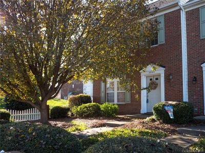 Indian Trail Condo/Townhouse For Sale: 3803 Faith Church Road