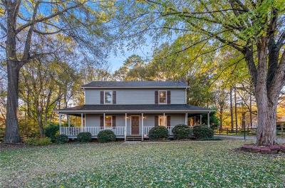 Huntersville Single Family Home Under Contract-Show: 8210 Coristar Place