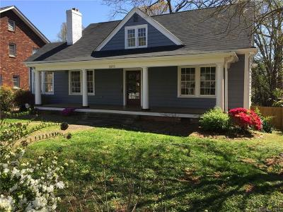 Charlotte Single Family Home For Sale: 1620 The Plaza Road