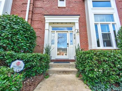 Charlotte Condo/Townhouse Under Contract-Show: 2708 Dilworth Heights Lane