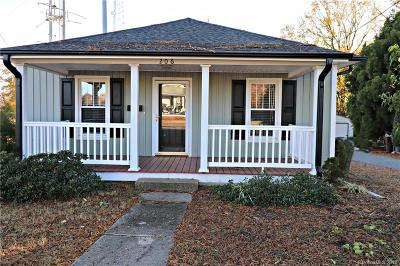 Kannapolis Single Family Home Under Contract-Show: 206 E 10th Street