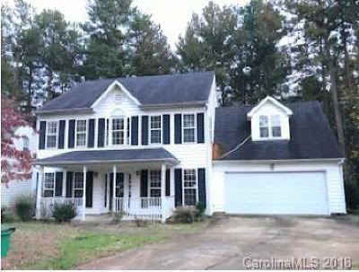 Charlotte NC Single Family Home For Sale: $218,700