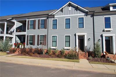 Mooresville Condo/Townhouse For Sale: 110-C Mint Avenue