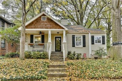 Single Family Home For Sale: 2509 Chesterfield Avenue
