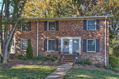 Charlotte Condo/Townhouse Under Contract-Show: 4319 Walker Road #G
