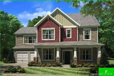 Davidson Single Family Home For Sale: 17504 Shearer Road #Lot 92