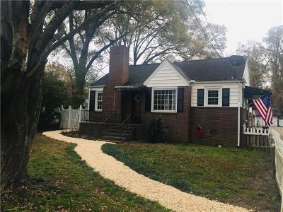 Single Family Home For Sale: 1113 Craig Avenue