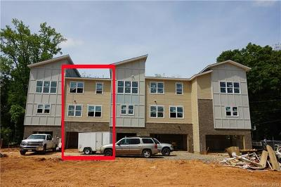 Charlotte Condo/Townhouse For Sale: 1613 Chatham Avenue #TOW0007