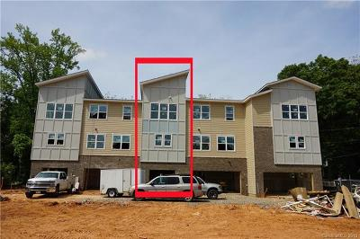 Charlotte Condo/Townhouse For Sale: 1611 Chatham Avenue #TOW0008
