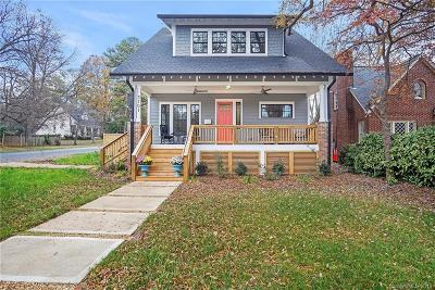 Charlotte Single Family Home For Sale: 3701 Commonwealth Avenue