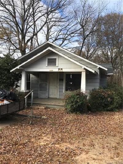 Statesville Single Family Home For Sale: 1326 7th Street
