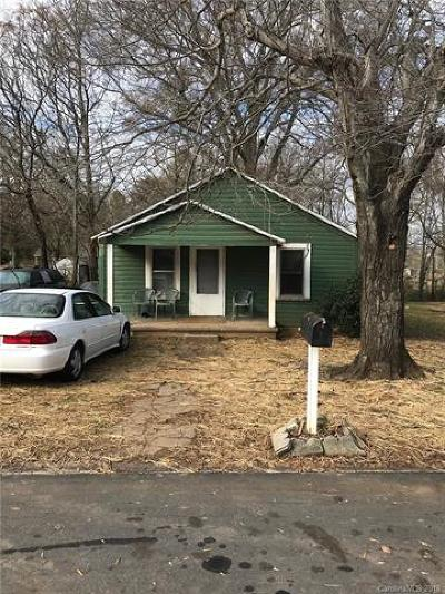 Statesville Single Family Home For Sale: 1508 11th Street