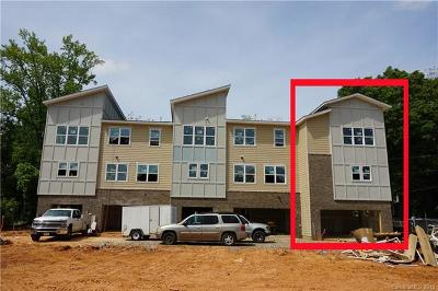 Charlotte Condo/Townhouse For Sale: 1607 Chatham Avenue #TOW0010