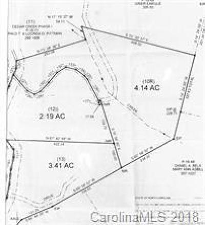 Bat Cave, Black Mountain, Chimney Rock, Columbus, Gerton, Lake Lure, Mill Spring, Rutherfordton, Saluda, Tryon, Union Mills Residential Lots & Land For Sale: 999 Cedar Creek Road #12