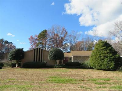 Cherryville Single Family Home For Sale: 2081 Fairways Drive