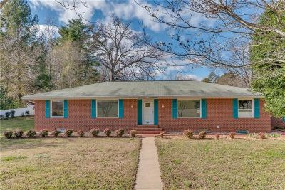 Bat Cave, Black Mountain, Chimney Rock, Columbus, Gerton, Lake Lure, Mill Spring, Rutherfordton, Saluda, Tryon, Union Mills Single Family Home Under Contract-Show: 541 N Main Street
