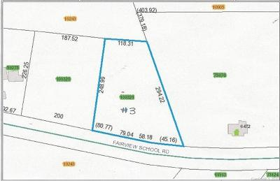 Residential Lots & Land For Sale: Fairview School Road #3